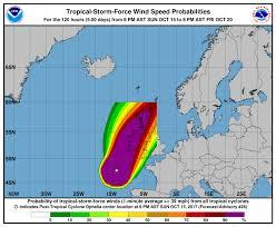 post tropical cyclone ophelia