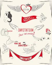 Wedding Invitation Card Format In Romantic Wedding Invitation Card Template Free Vector Download