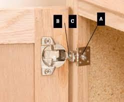 how to adjust european cabinet door hinges adjust european cabinet door hinges building1st com