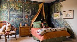 Forest Canopy Bed Bedroom Astonishing Awesome Jungle Themed Bedroom Forest