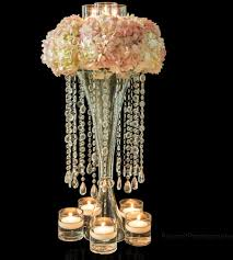 Wedding Centerpieces With Crystals by Centerpiece Crystals Royal Blue Crystal Flower Centerpieces For