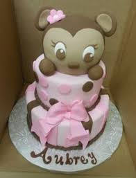 baby shower cake ideas this monkey baby shower cake was ordered