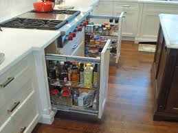 modern kitchen cabinet storage ideas 50 images of amusing kitchen counter storage solutions