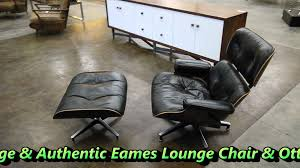 the595project eames lounge chair u0026 ottoman youtube