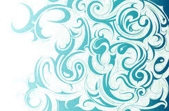 water drop liquid ornament stock vector image of abstract 53120373