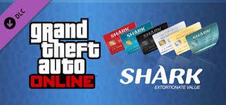 gta shark cards on steam