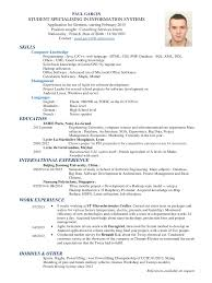 Architecture Student Resume Sample by Computer Science Resume Projects Free Resume Example And Writing