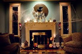 elegant halloween decor house with halloween decorations