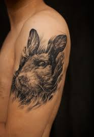 western color rabbit tattoos in 2017 real photo pictures images