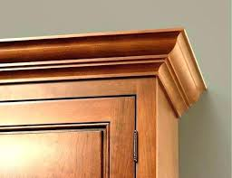 how to install crown molding on kitchen cabinets crown molding on top of kitchen cabinets upper cabinet moulding