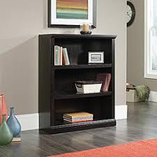 Sauder 3 Shelf Bookcase Cherry Bookcases Home Bookcases Sears