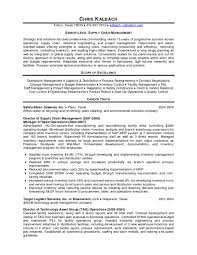 Fleet Manager Resume Supply Chain Management Cover Letter