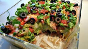Vegan Comfort Food Recipes Mexican 7 Layer Dip Brand New Vegan