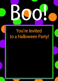 Printable Party Invitation Cards Printable Halloween Party Invitations U2013 Gangcraft Net