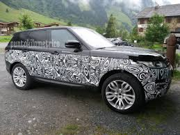 land rover sports car 2017 range rover sport facelift spotted up close
