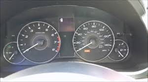 2012 subaru outback low oil indicator on after oil change even