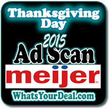 thanksgiving day sale ad scan for meijer 11 26 grocery coupons wyd