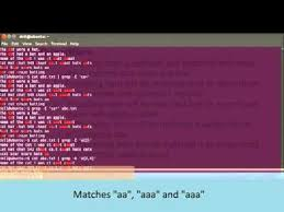 pattern matching using awk exles lab5 regular expression use of grep awk and sed youtube