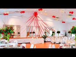 wedding stage decoration with balloons youtube