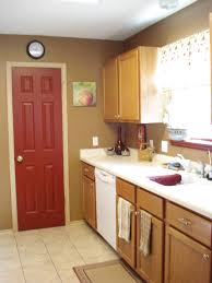 kitchen ideas kitchen with red accents backsplash with red