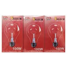 100w clear light bulbs buy g b clear light bulbs 100w 3 pack at global distribution for