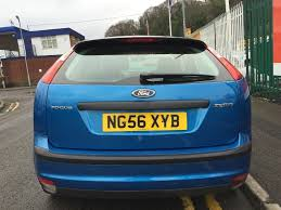 2006 56 ford focus 1 6 zetec climate 5dr 5 speed manual petrol low