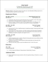 Resume Examples In Word Format by Sales Resume Sales Resume Sample