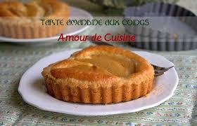 cuisiner le coing tarte amandine aux coings amour de cuisine
