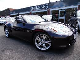nissan convertible hardtop used nissan 370z convertible for sale motors co uk