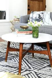 mid century round coffee table justin schafers mid century modern coffee table omaha magazine mid