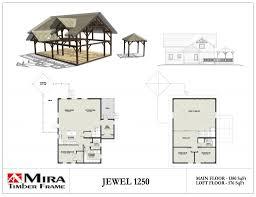 open loft floor plans cottages mira timber frame