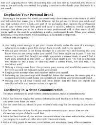 idoc cover letter