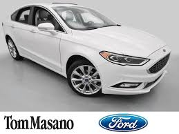 picture ford fusion 2017 ford fusion platinum awd at tom masano auto inc