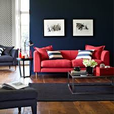 How To Decorate Living Room With Red Sofa by Bold Colour Living Rooms Red Online