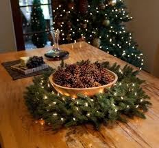 Christmas Decorations Lights In A Bowl by 24 Fresh Christmas Centerpieces Ideas That Inspire Shelterness