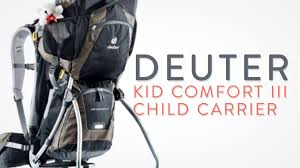 Deuter Kid Comfort 2 Deuter Kid Comfort Ii Child Carrier Sun Roof Rain Cover Youtube