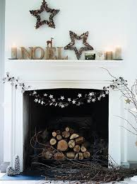 Christmas Decorations For Fireplace Mantel Fireplace Designs Wood Christmas Fireplace Mantel Ideas
