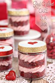 red velvet cake in a jar sugarhero