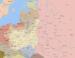 Map Of Lithuania Lithuania Map 1920