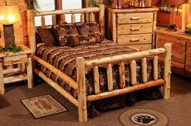 Cedar Bedroom Furniture Hayward Traditional Cedar Log Bedroom Set Discounted Cedar Log