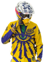 design jersey motocross troy lee designs yellow purple 2013 gp cyclops mx jersey troy