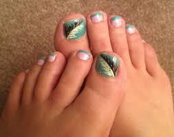 nail art simple pedicure nail art toe design for beginners