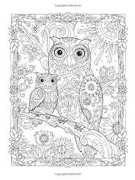 Owls Coloring Pages To Cute Owl Coloring Pages Print In Line Owl Color Pages