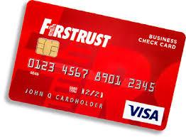 debt cards business debit card firstrust bank