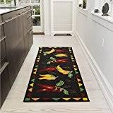Kitchen Runner Rugs Washable Amazon Com Washable Runners Area Rugs Runners U0026 Pads Home