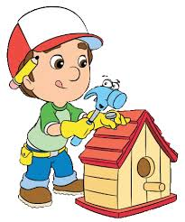 image manny pat fixing bird house gif handy manny wiki