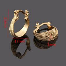 design of earrings aliexpress buy bangrui factory price 2017 new design gold