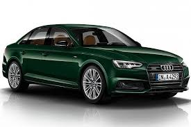 audi catalog audi a4 in exclusive goodwood green paint color b9 audi a4 forum
