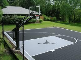 triyae com u003d small basketball court in backyard various design