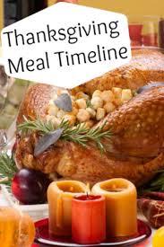thanksgiving dinner timeline blissfully domestic
